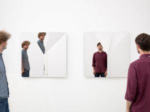 Fold II by Jeppe Hein contemporary artwork