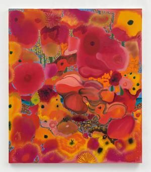 Bleeding Heart Finding The Light by Shara Hughes contemporary artwork