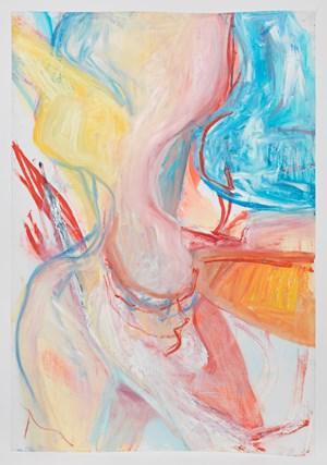 non-dairy creamer by Rita Ackermann contemporary artwork