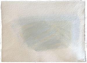 """""""Composition en forme de paysage"""" by Geneviève Asse contemporary artwork"""