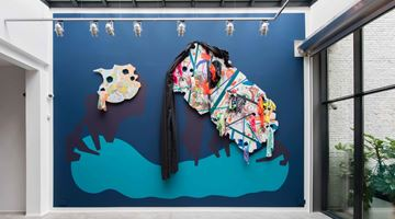 Contemporary art exhibition, Franz Ackermann, Our Houses at Templon, Brussels, Belgium