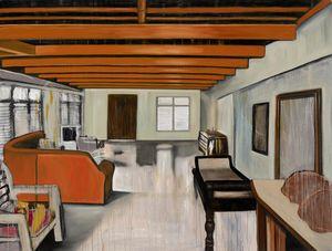 Low Ceiling due to Flooding by Marina Cruz contemporary artwork