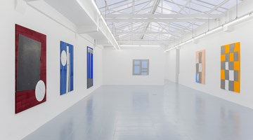 Contemporary art exhibition, Sam Moyer, Many Moons at rodolphe janssen, Brussels