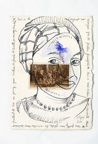 Bilongue 21 by Barthélémy Toguo contemporary artwork works on paper