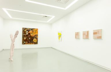 Contemporary art exhibition, Group Exhibition, Surface is Only a Material Vehicle for Spirit Guest Curated by Kennedy Yanko at Kavi Gupta, Elizabeth St, Chicago, USA