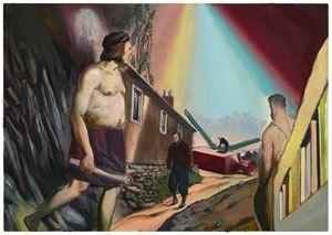 Die Wächter by Neo Rauch contemporary artwork