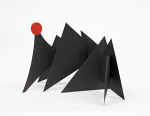 Sun and Mountains by Alexander Calder contemporary artwork