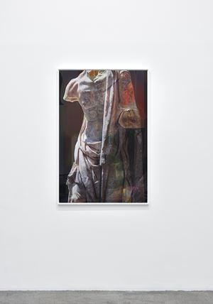 Old Fisherman by James Welling contemporary artwork
