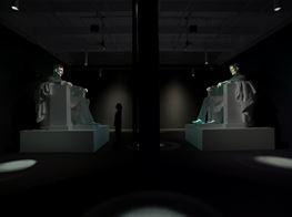 "Krzysztof Wodiczko<br><em>A House Divided...</em><br><span class=""oc-gallery"">Galerie Lelong & Co. New York</span>"