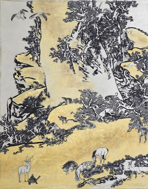 Tale of the Eleventh Day Mustard Seed Farden by Yang Jiechang contemporary artwork