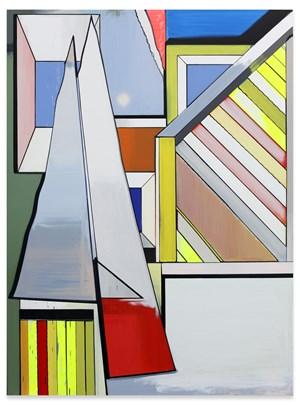 Speicher und Fenster by Thomas Scheibitz contemporary artwork