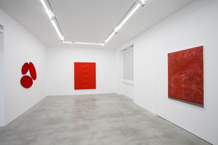 Exhibition view: In the matter of color, Dep Art Gallery, Milan (20 May–31 July 2020). Courtesy Dep Art Gallery.