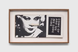 Untitled (Mae West, Come Op and See Me Sometime) by Ray Johnson contemporary artwork