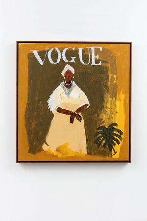 Dona Ester - Irmandade da Boa Morte (Vogue Brasil) by Elian Almeida contemporary artwork