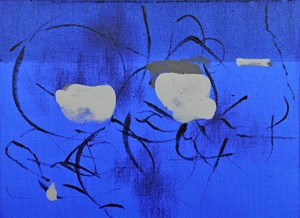 Another Nature / blue by Koji Yamamoto contemporary artwork