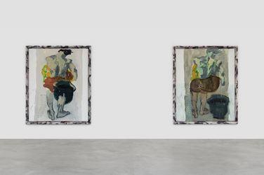 Exhibition view: Markus Lüpertz, Solo Exhibition, Almine Rech Gallery, Brussels (11 October–21December 2017). © Markus Lüpertz. Courtesy the artist andAlmine Rech Gallery, Brussels. Photo: Hugard & Vanoverschelde photography.