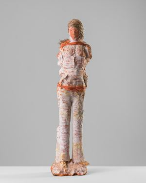 The cane collector by Linda Marrinon contemporary artwork sculpture