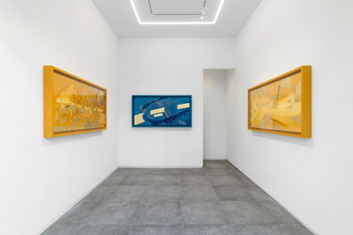Exhibition view: Jorinde Voigt, POTENTIAL AND COINCIDENCE, P21, Seoul ( 8 May – 5 June 2021). Courtesy P21.