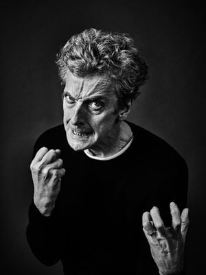Peter Capaldi by Andy Gotts contemporary artwork photography, print