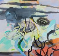 Stress Echo by Catherine Clayton-Smith contemporary artwork painting