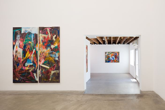 Exhibition view: Michael John Kelly, Tempest, Anat Ebgi, Los Angeles (20 July–24 August 2019). Courtesy Anat Ebgi.