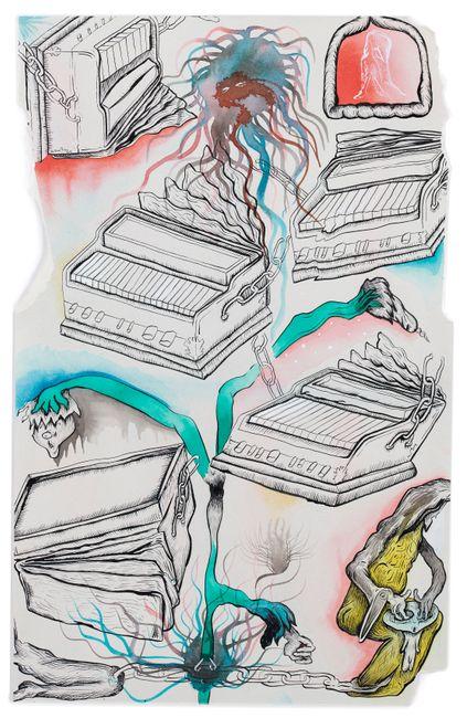 Harmoniums by Hardeep Pandhal contemporary artwork