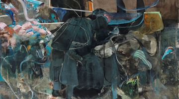 Contemporary art exhibition, Adrian Ghenie, The Hooligans at Pace Gallery, New York