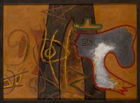 Uranie by Georges Braque contemporary artwork painting