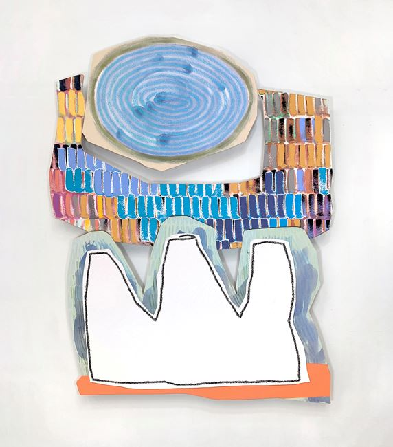Bookend 13 by Justine Hill contemporary artwork