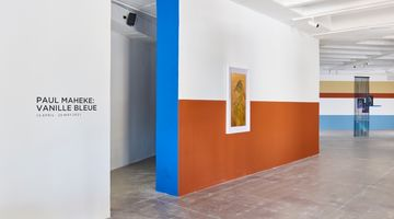 Contemporary art exhibition, Paul Maheke, Vanille Bleue at Goodman Gallery, Johannesburg