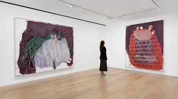 Contemporary art exhibition, Portia Zvavahera, Ndakavata pasi ndikamutswa nekuti anonditsigira at David Zwirner, London, United Kingdom