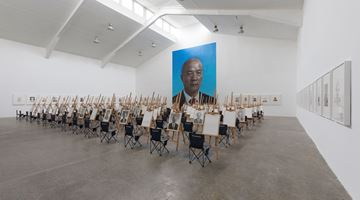 Contemporary art exhibition, Wang Qingsong, On the Field of Hope at Tang Contemporary Art, Beijing
