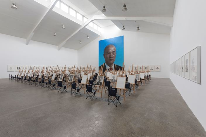 Exhibition view: Wang Qingsong,On the Field of Hope, Tang Contemporary Art, Beijing (11 July–26 August 2020). Courtesy Tang Contemporary Art, Beijing.