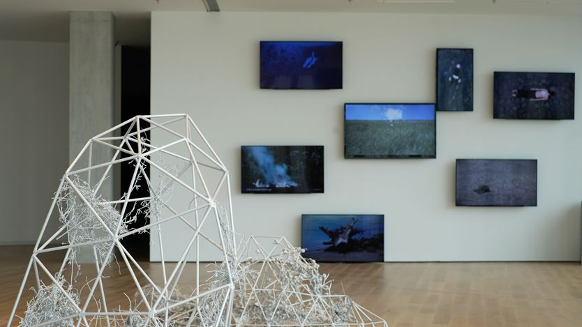 Exhibition view: Group Exhibition, From the Mundane World: Launch Exhibition of He Art Museum, He Art Museum, Guangdong (1 October 2020–31 March 2021). Courtesy He Art Musem.