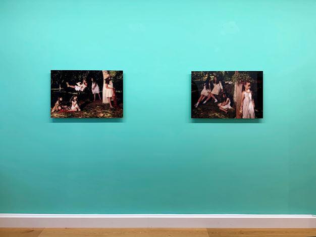 Exhibition view: Nazif Topçuoğlu, Forbidden Knowledge, Flatland Gallery, Amsterdam (1 February–14 March 2020). Courtesy FLATLAND.