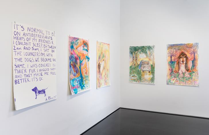 Exhibition view: @50, Tolarno Galleries, Melbourne (6 July–2 September 2017). Courtesy Tolarno Galleries. Photo: Andrew Curtis.
