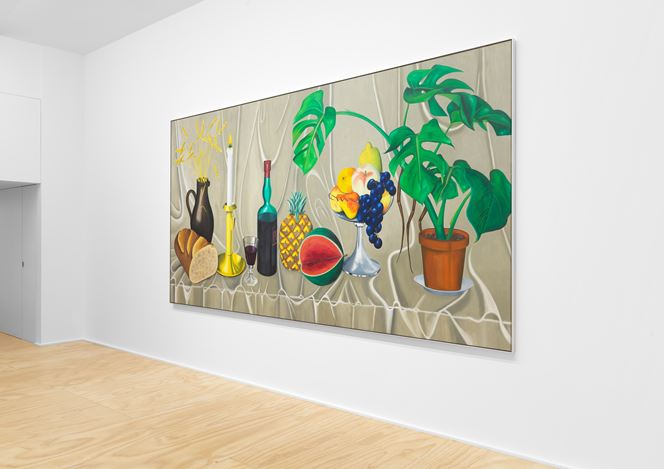Exhibition view: Jean-Frédéric Schnyder, Eva Presenhuber, New York (7 March–24 July 2020). © Jean-Frédéric Schnyder. Courtesy the artist and Galerie EvaPresenhuber, Zurich / New York. Photo: Matt Grubb.