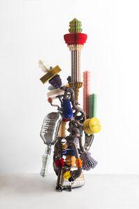 Tree of knowledge by Keita Miyazaki contemporary artwork sculpture, mixed media