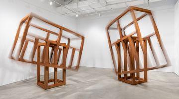 Contemporary art exhibition, Raul Mourão, Empty Head at Galeria Nara Roesler, New York, USA