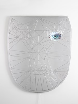 Metaquerade by Tony Oursler contemporary artwork