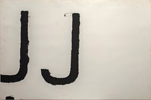 Untitled (JJ) by Jannis Kounellis contemporary artwork