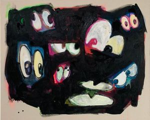 One's Eyes no.10 by Kinjo Toshiki contemporary artwork