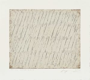 Ecriture 54-79 by Park Seo-Bo contemporary artwork