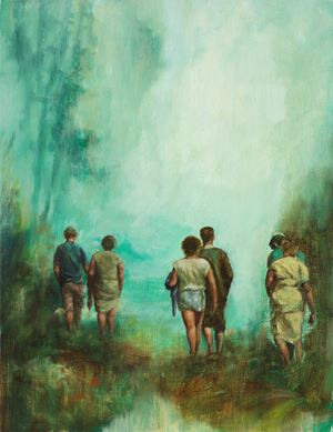 Not Stir of the Air Was There by Christopher Orr contemporary artwork