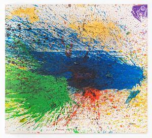 Capri - Certosa 53 by Shozo Shimamoto contemporary artwork