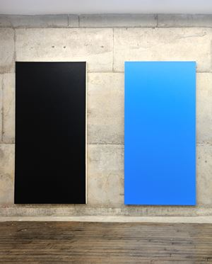 Untitled by Olivier Mosset contemporary artwork