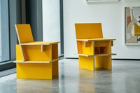 Sillas Núcleo (two chairs) by Mateo López contemporary artwork sculpture