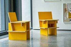 Sillas Núcleo (two chairs) by Mateo López contemporary artwork