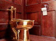 Oh, Crap! Thieves Swipe Solid Gold Toilet Worth $6M