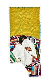 Return to Innocence by Billie Zangewa contemporary artwork sculpture, textile